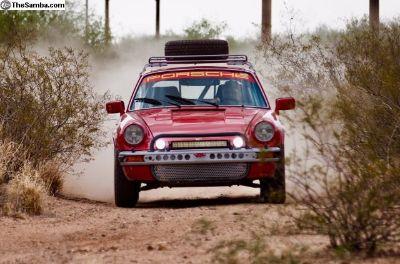 1979 911 SC coupe rally safari off road race