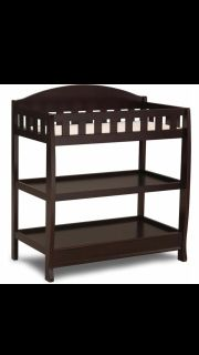 Crib and diaper table set