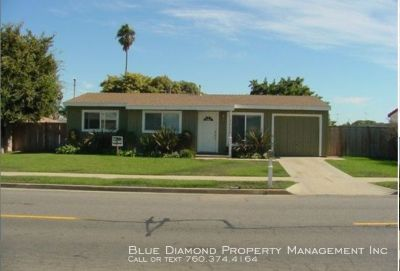 3 BR, 1 BA home with yard and Avocado trees