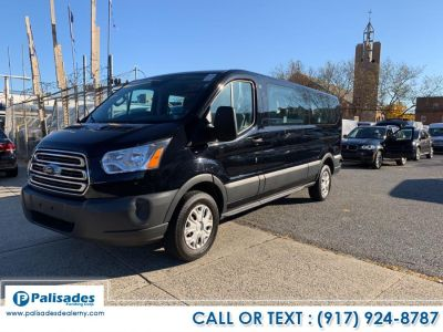 "2017 Ford Transit Wagon T-350 148"" Low Roof XLT Swing- (Black)"