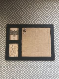 Push Pin Board with Photo Frames