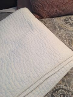 King size Pottery Barn quilt