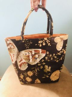 1950s Margaret Smith Butterfly tote