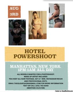 POWERSHOOT IN NYC HOTEL