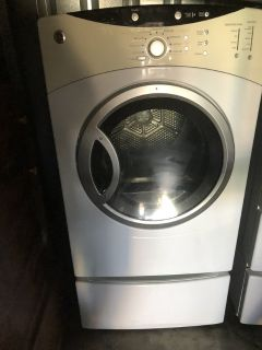 GE front lading washer and gas dryer