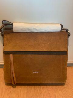 Michael Kors Sedona Large Suede Messenger Bag