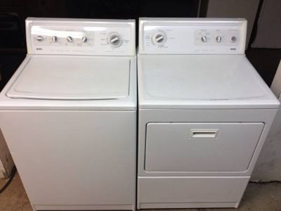 NEWEST MATCHING WASHER AND DRYER , WRINKLE FREE FABRIC