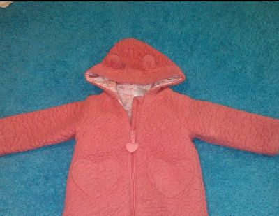 QT brand size 12 months fleece material hooded jacket MY PROFILE MY MEETING INFORMATION SERIOUS BUYERS ONLY