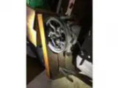 Antique hand crank drill press sale or trade (Redford)
