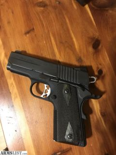 For Sale/Trade: Sig Sauer 1911 ultra compact 45