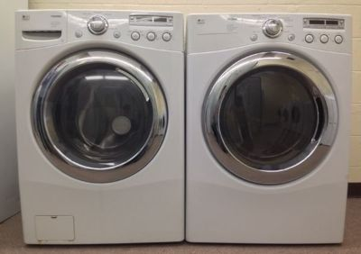LG Trom Washer and Dryer Frontload