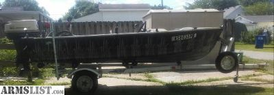 For Sale/Trade: Hunting/Fishing Boat