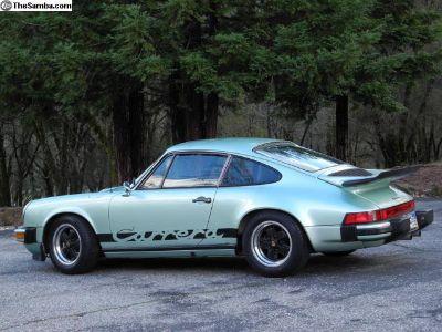 Original paint 1975 Carrera 2.7