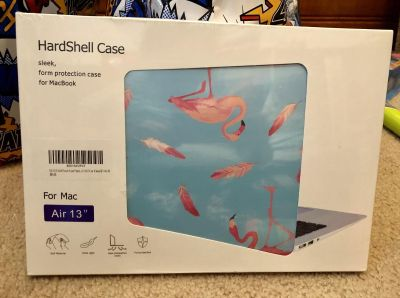 Brand New Flamingo Hardshell Case For MAC French Valley