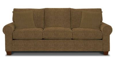 Bassett Furniture Couch brownrust color