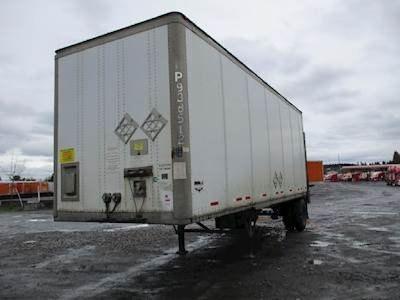 2014 Wabash Plate Dry Van