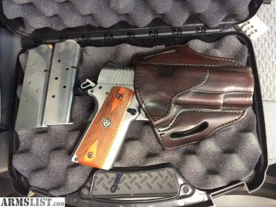 For Sale: Ruger SR 1911 CMD .45