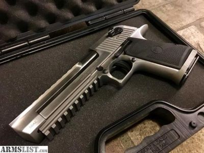 For Sale: Desert Eagle .50 cal Brushed Stainless