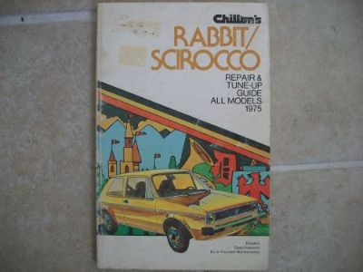 Find 1975 VOLKSWAGEN RABBIT, SCIROCCO REPAIR MANUAL by CHILTON 6341 motorcycle in Golden Valley, Arizona, United States, for US $6.60