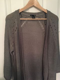 H&M cable sweater, light-weight, great design pattern