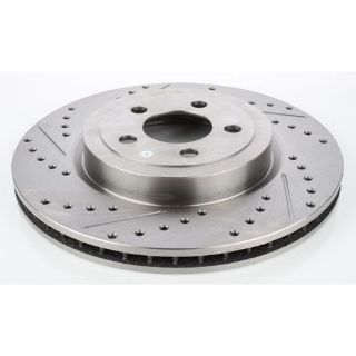 Purchase JEGS Performance Products 632201 HP Drilled & Slotted Brake Rotor motorcycle in Delaware, Ohio, United States, for US $68.99
