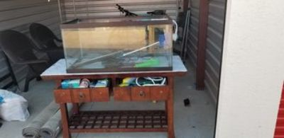 40gal tank and stand
