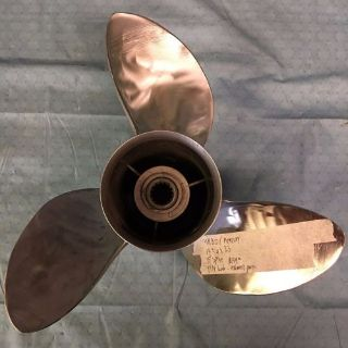 Sell Turbo/Mercury 3 Blade Stainless Steel Propeller 14 3/4 x 23 motorcycle in Scottsville, Kentucky, United States, for US $159.99