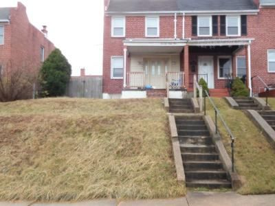 1.0 Bath Foreclosure Property in Baltimore, MD 21224 - Eastbrook Ave