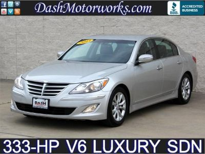 $17,985, 2013 Hyundai Genesis Luxury Sedan