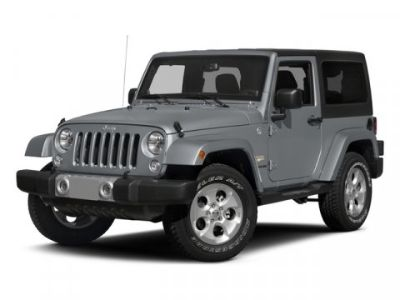 2015 Jeep Wrangler Rubicon (Bright White Clearcoat)