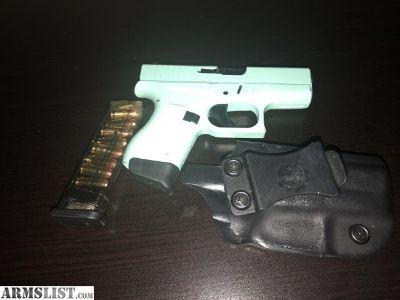 For Sale: Glock 42 eggshell blue