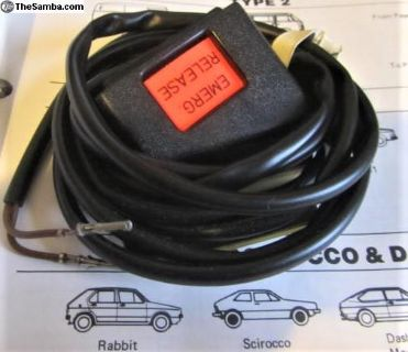 Seat Belt Electrical Receptacle 1977-78 Rabbit:NOS