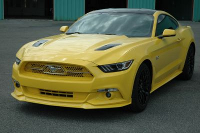 2015 Ford Mustang GT COUPE PREMIUM (TRIPLE YELLOW)