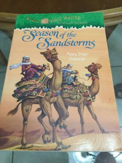 EUC! Magic Tree House! A Merlin Mission! Seasons of the Sandstorms Children s Book! NS Meet AB Park or PPU