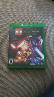 Lego star wars the force awakens game for xbox one
