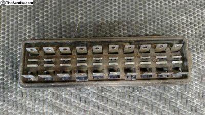 67 - 71 Beetle 10 fuse box