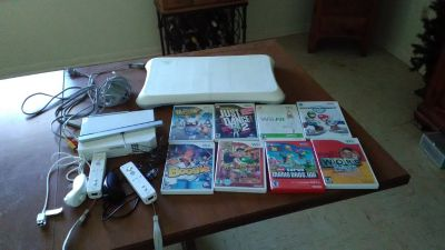 Nintedo Wii with everything plus games