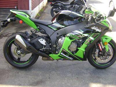 2016 Kawasaki Ninja ZX-10R ABS KRT Edition SuperSport Motorcycles Asheville, NC