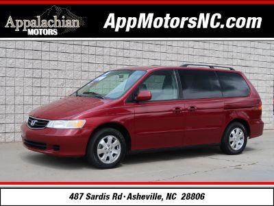2004 Honda Odyssey EX-L (Red)