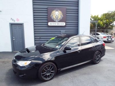2008 Subaru Impreza WRX Base Premium Package (Black)
