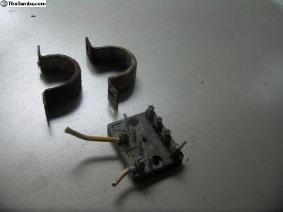1956 head light fuse box steer colm mounts