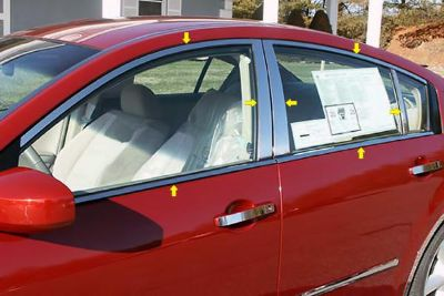 Purchase SAA WP24540 04-08 Nissan Maxima Window Package w Pillar Posts Car Chrome Trim motorcycle in Westford, Massachusetts, US, for US $193.20