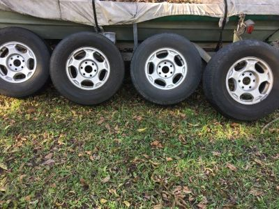 265/ 70R16 tires and rims