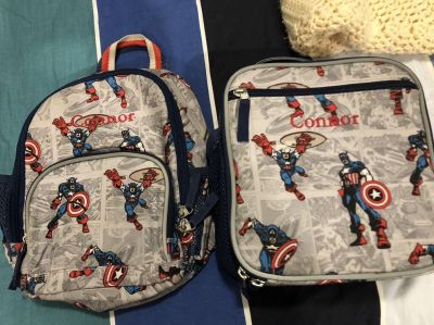 Pottery Barn Kids Lunch Box & Backpack