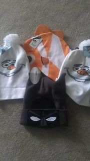 NWT beanie hats for kids or adults