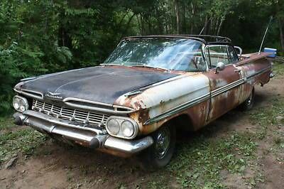 1959 Chevy Impala Convertible Project