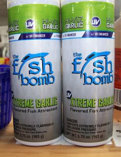Hi-Viz The Fish Bomb Xtreme Garlic Fish Attractant