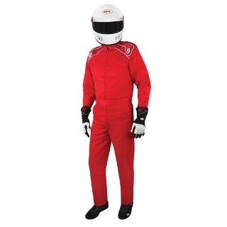 BELL RACE SUIT Single Layer RED SFI 3-2A/1 Racing Large NEW