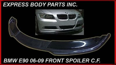 Purchase E90 BMW 06-09 FRONT BUMPER CARBON FIBER LIP SPOILER H AMN N STY 3 SERIES 328 325 motorcycle in North Hollywood, California, US, for US $298.00