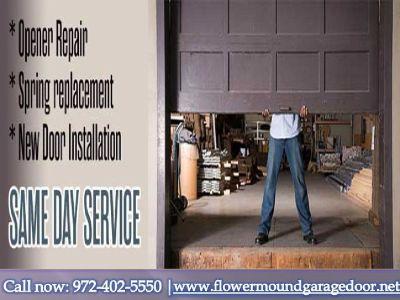 Garage Door Opener Repair Installation Company In Flower Mound